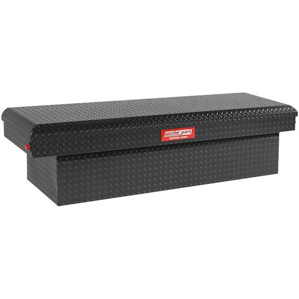 Defender Series Black Full Size Saddle Box