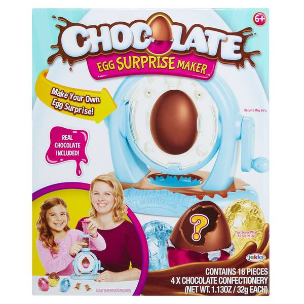 Chocolate Egg Surprise Maker