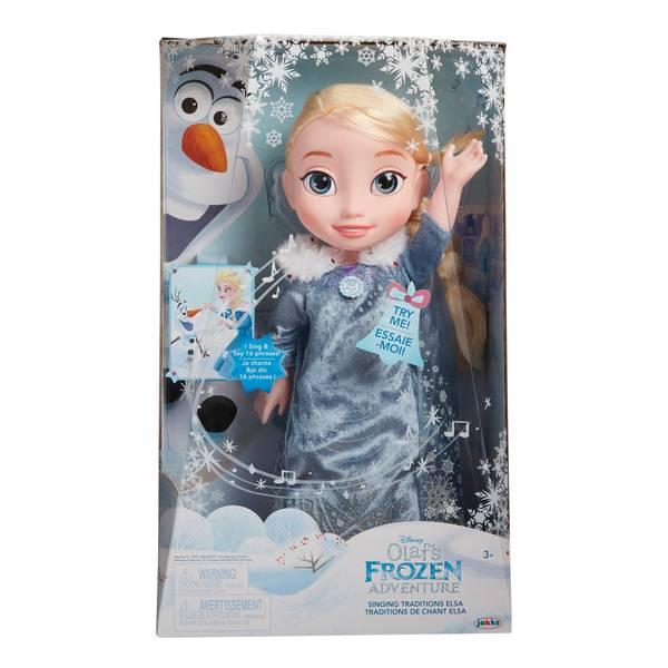 Olaf's Frozen Adventure Singing Traditions Elsa