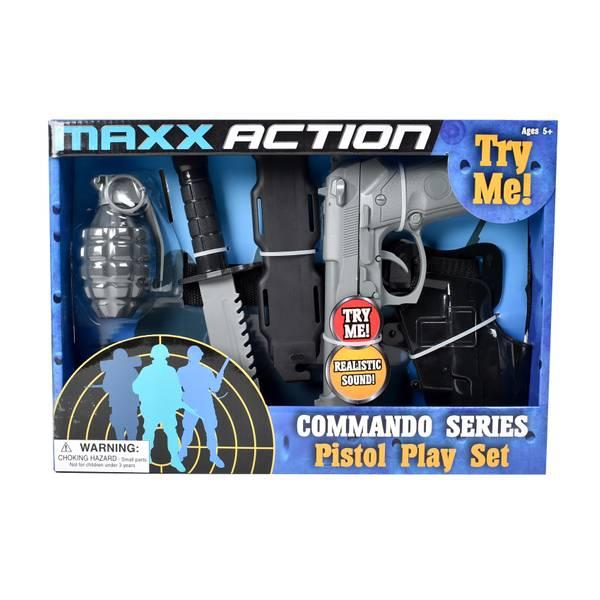 Commando Series 5-Piece Pistol Play Set