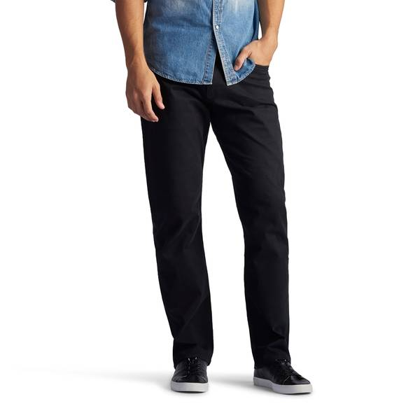 Men's Modern Straight Leg Extreme Motion Twill Jeans