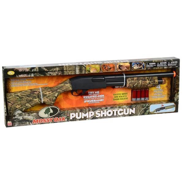 Mossy Oak Pump Shotgun