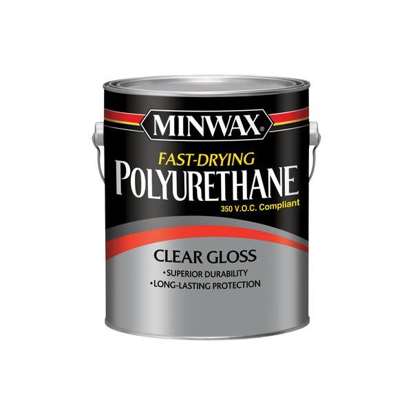 Fast-Drying Polyurethane Clear Gloss Finish