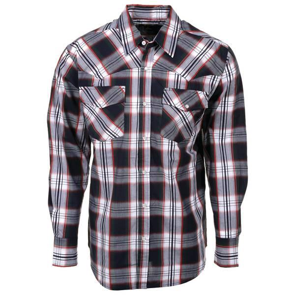 Long Sleeve No Stain Western Dobby Shirt