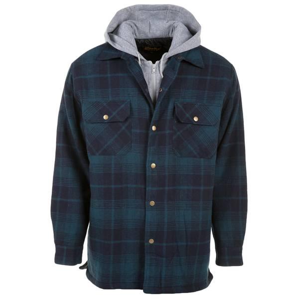 Men's Teflon Quilt Lined Bib Jacket
