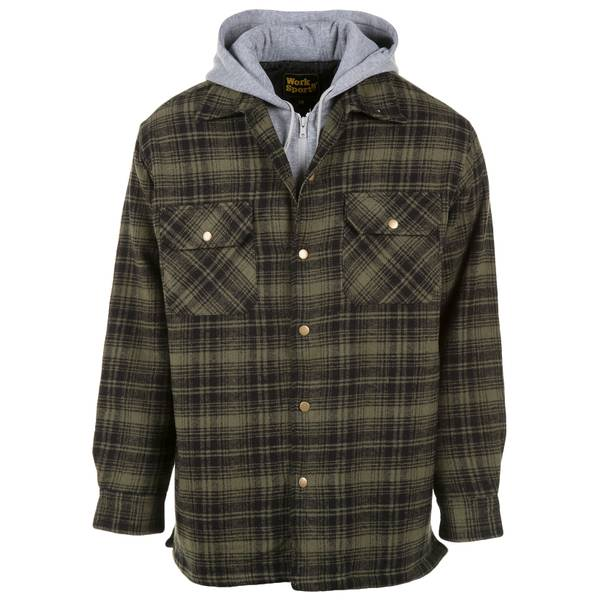 Men's Teflon Quilt Lined Bib Jacket