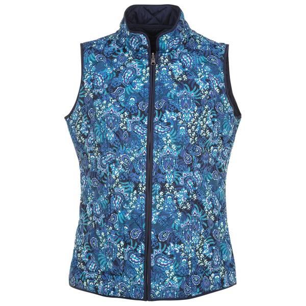 Women's Reversible Printed Vest