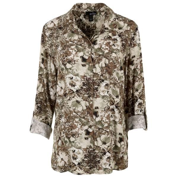 Women's Mixed Blossom Print Shirt