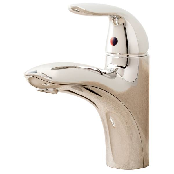 Aqualife Chrome Finish Faucet with Pop-Up Drain Assembly