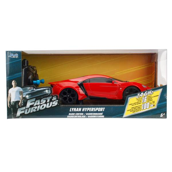 "Fast & Furious 7.5"" RC Assortment"