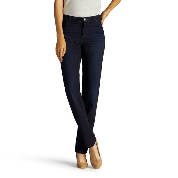 448c3129 Lee Misses' Niagara Relaxed Fit Straight Leg Jeans