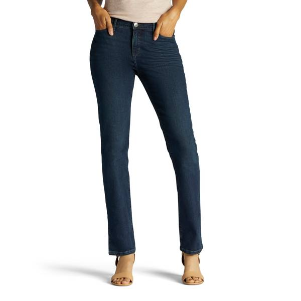 Misses Mysterious Rebound Authentic Straight Leg Jeans