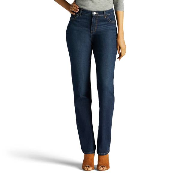Lee Misses Ellis Monroe Classic Straight Leg Jeans