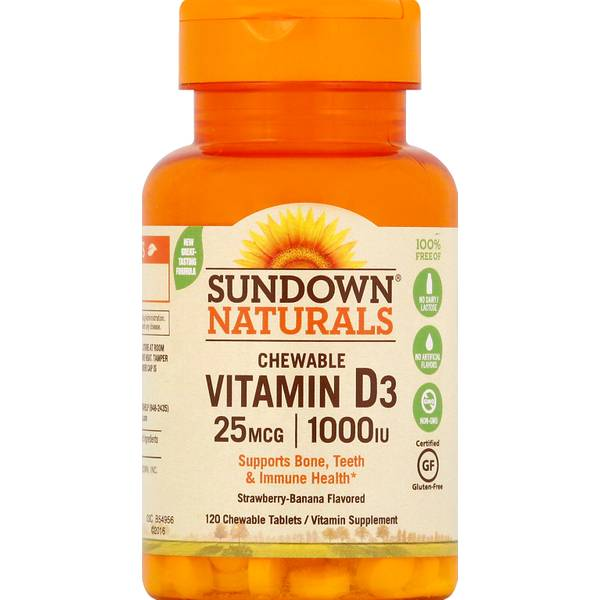 Sundown Naturals Vitamin D  Iu Reviews