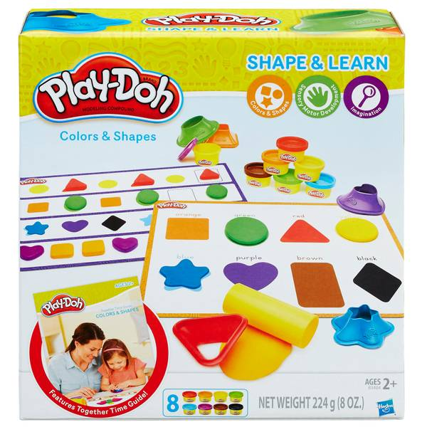 Play-Doh Shape & Learn Colors & Shapes Playset