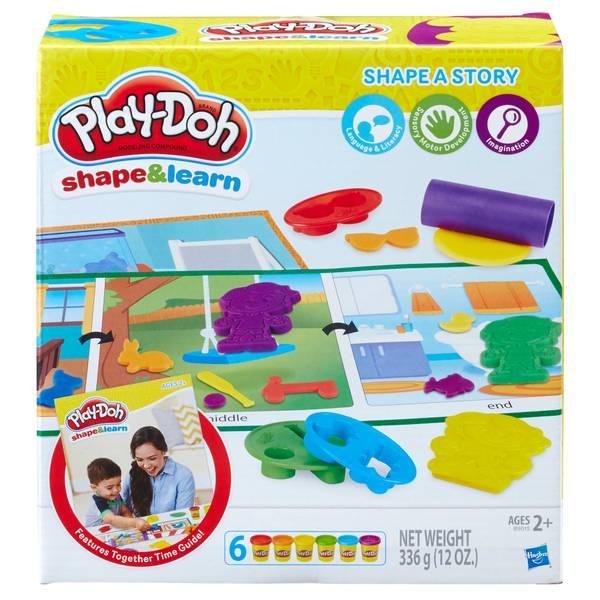 Play-Doh Shape & Learn Shape A Story Playset