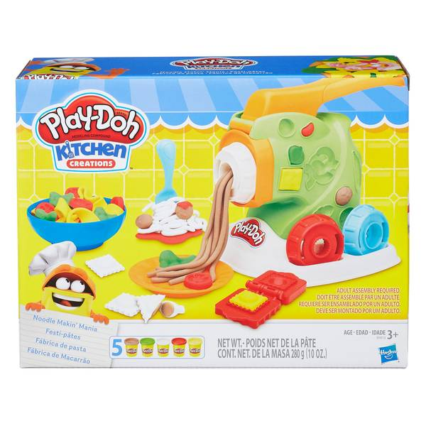 Play-Doh Kitchen Creations Noodle Makin' Mania Playset