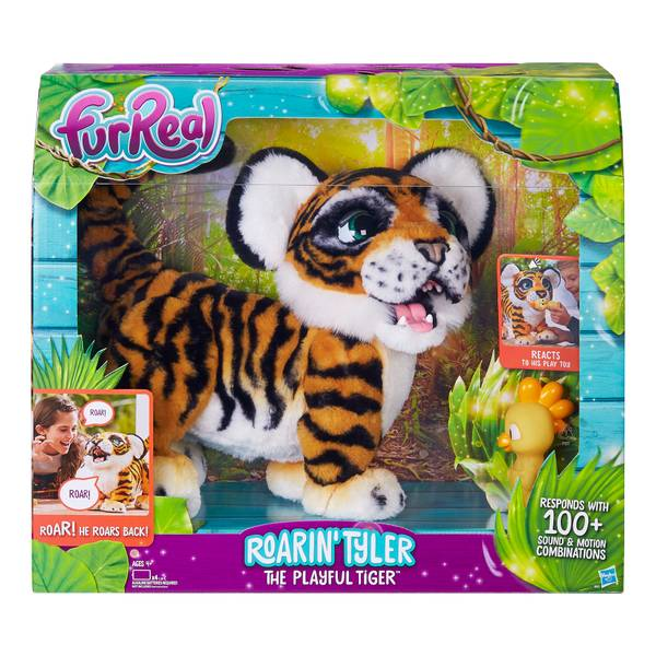 FurReal Roarin' Tyler The Playful Tiger Doll
