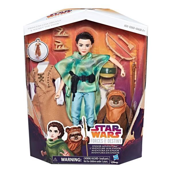 Star Wars Forces of Destiny Princess Leia Organa Endor Adventure