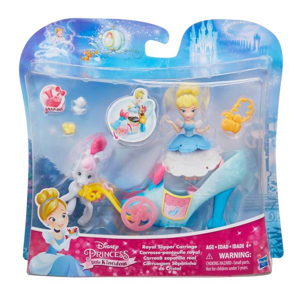 Disney Princess Little Kingdom Royal Slipper Carriage Assortment