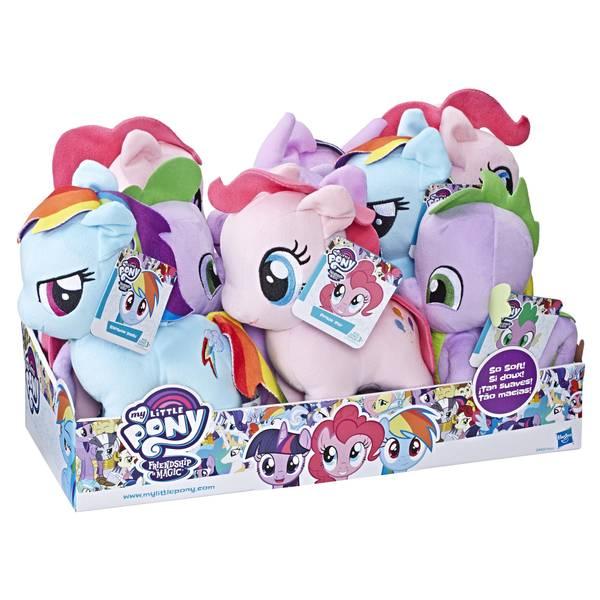 Soft Plush Pony Toys Assortment