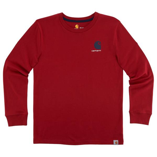 Big Boys' Chili Long Sleeve Live on The Water Tee