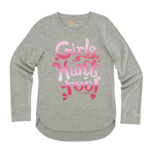Girls' Girls Hunt Too Long Sleeve Tee