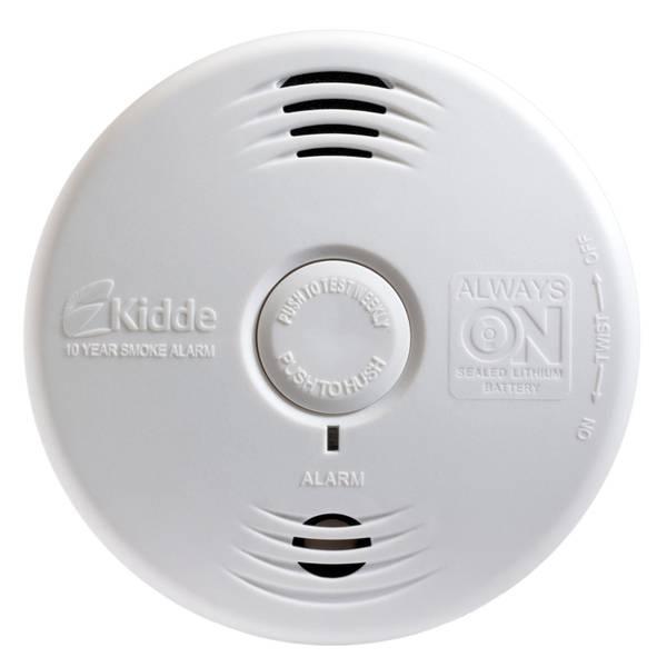 Worry Free Bedroom Smoke Alarm with Voice Alarm