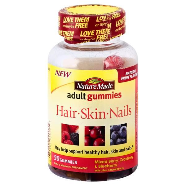 Nature Made Hair Skin Nails Gummies Reviews