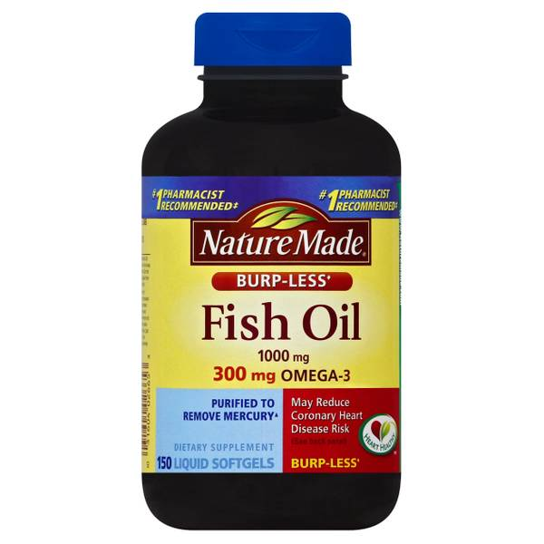 Nature made fish oil liquid softgels for Nature made fish oil review