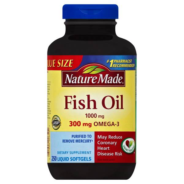 Nature made fish oil liquid soft gels for Where does fish oil come from