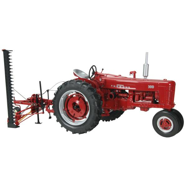 Farmall 300 Narrow Front Tractor & Sickle Mower