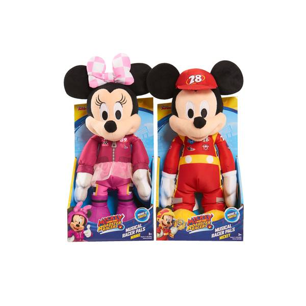 Mickey and the Roadster Racers Musical Pals Plush Assortment