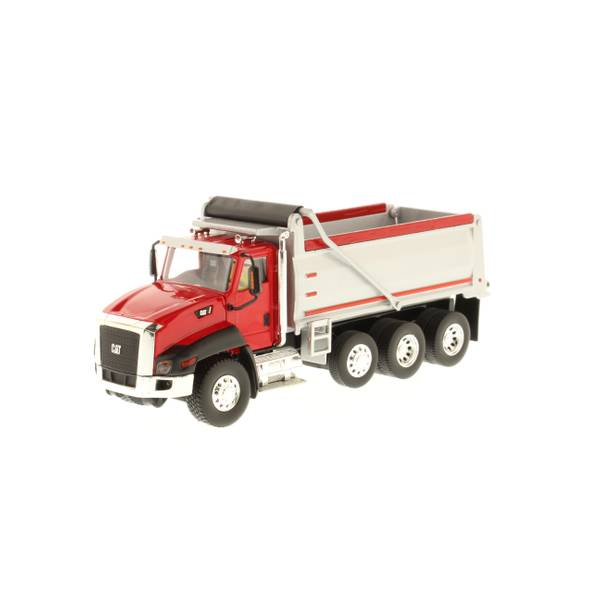 1:50 Red CT660 Dump Truck