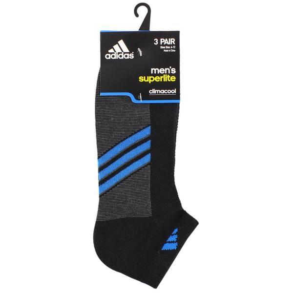 Men's Superlite Low Cut Climacool Socks-3 Pack