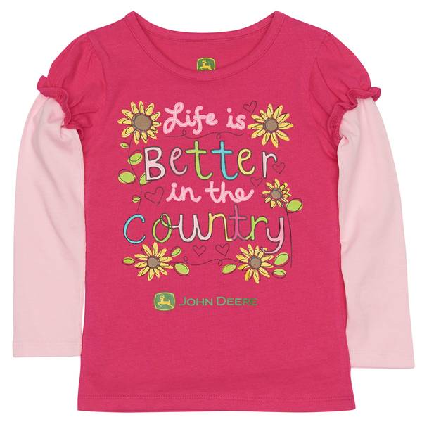 Toddler Girls' Better Tee
