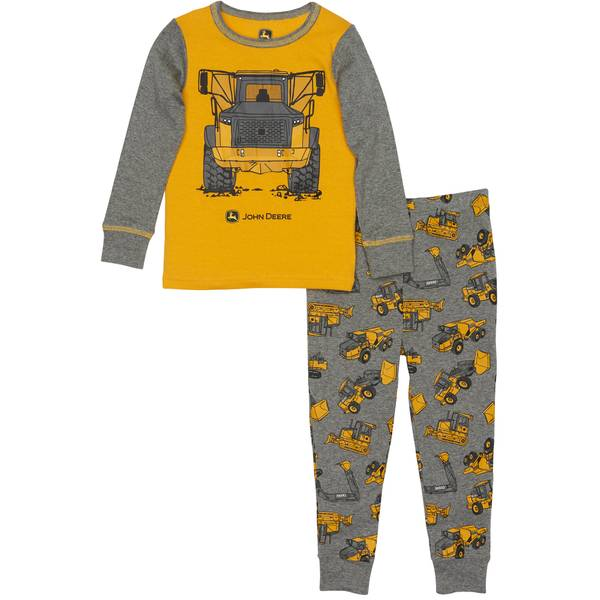 Boys' Construction Pajamas Set