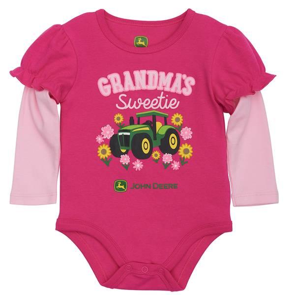 Baby Girls' Grandma's Sweetie Bodysuit