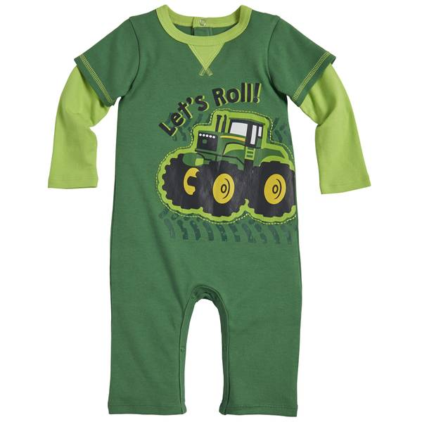 Baby Boys' Let's Roll Coveralls