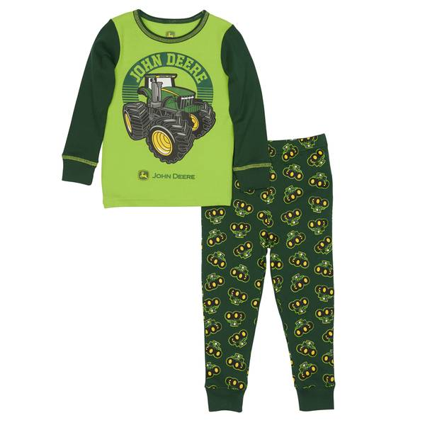 Boys' Tractor Pajamas Set