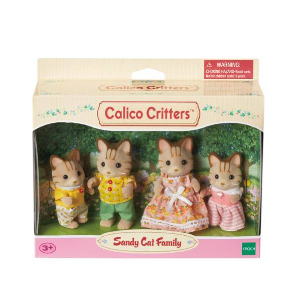 Sandy Cat Family
