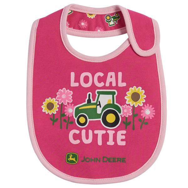 Girls' Local Cutie Bibs - 2 Pack
