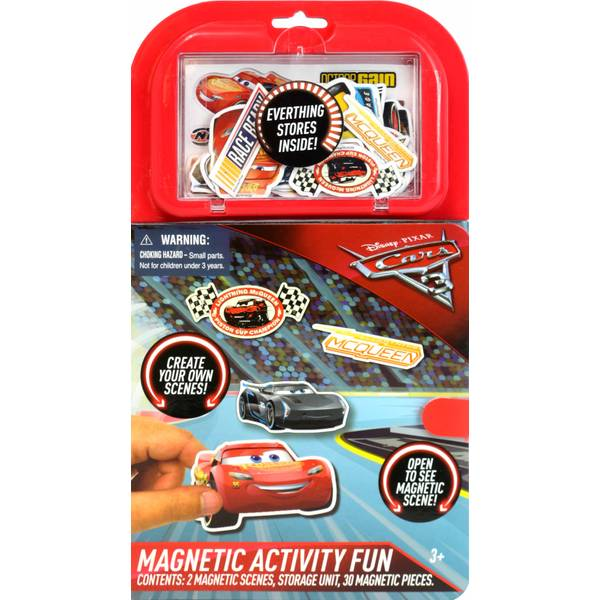 Cars 3 Magnetic Activity Fun