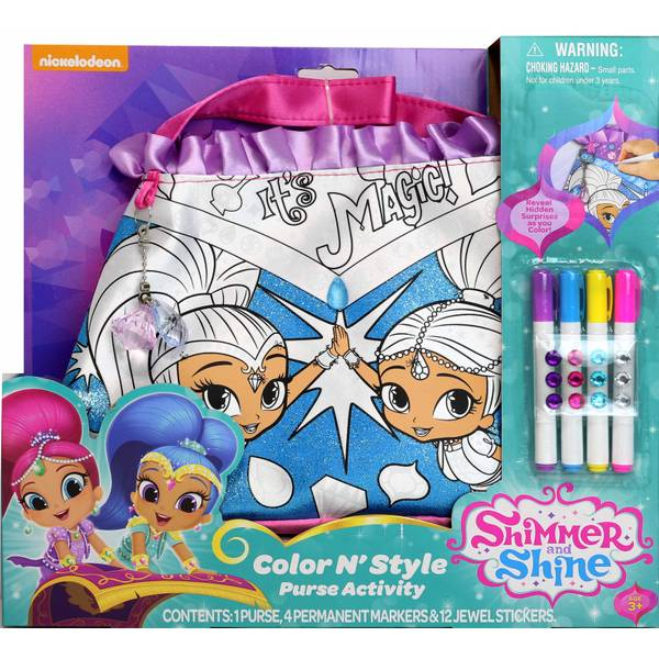Shimmer & Shine Color N Style Purse