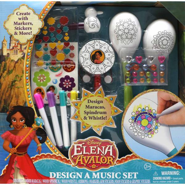 Elena of Avalor Design a Music Set