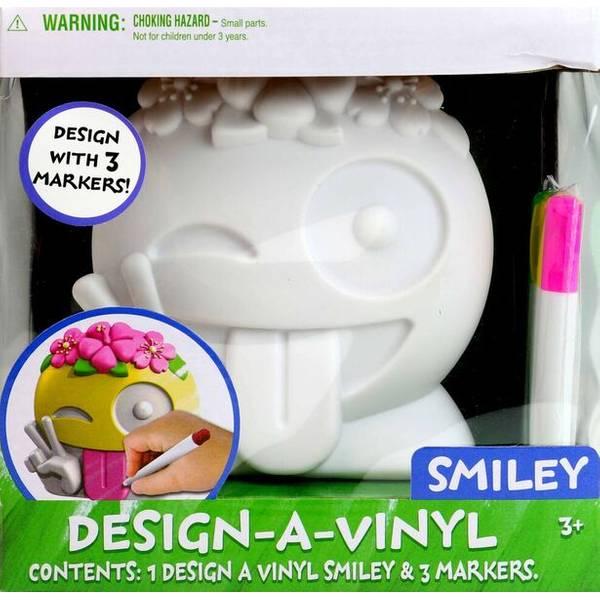 Smiley Emoji Design a Vinyl