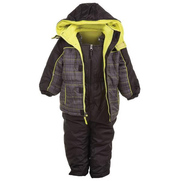 Big Chill Baby Boys' 2-Piece Snowsuit (1060149 IX678237-BLK-12M) photo