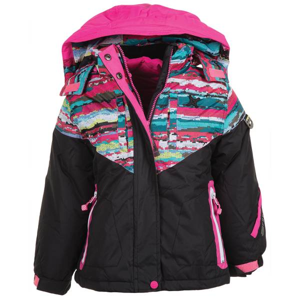 Girls' Hooded Systems Jacket