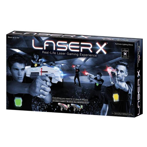Double Laser Tag Set