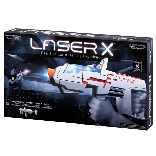 Long Range Blaster Single Laser Tag Set